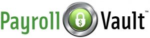 The official logo of Payroll Vault