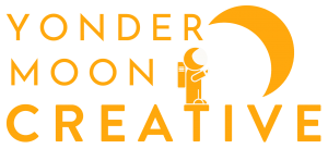 The official logo of Yonder Moon Creative